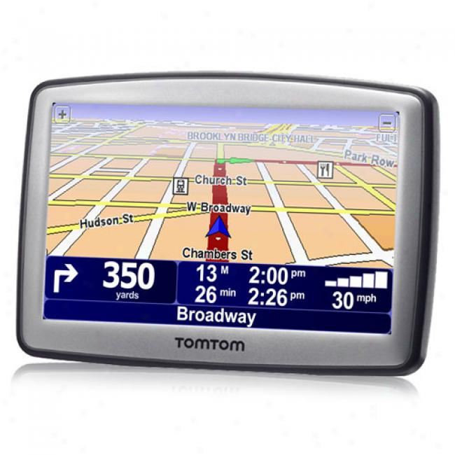 Tomtom Xl330 Portable Gps W/ 4.3