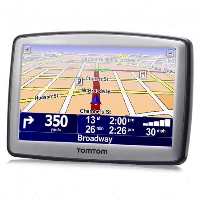 Tomtom Xl330s Portable Gps W/ 4.3