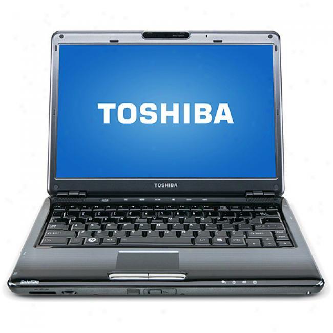 Toshiba 13.3'' Satellite U405-s2920 Laptop Pc W/ Intel Core 2 Duo Processor T8600