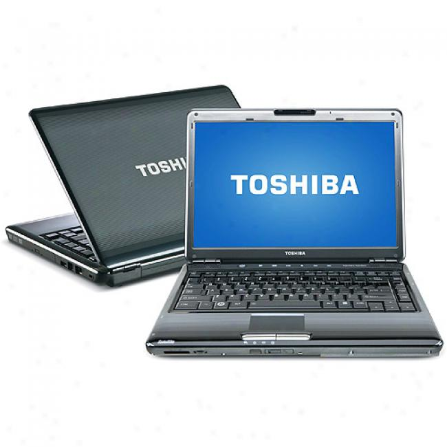 Toshiba 14.1'' Satellite M305-s4907 Laptop Pc W/ Intel Pentium Processor T3400