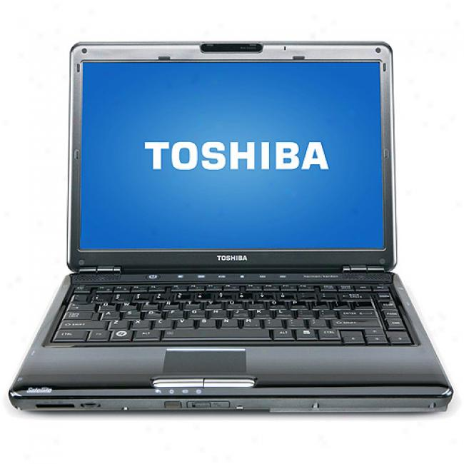 Toshiba 14.1'' Satellite M305-s4920 Laptop Pc W/ Intel Core 2 Duo Processor P8600