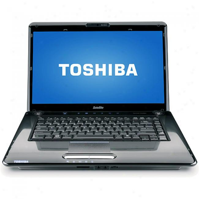Toshiba 16'' Satellite A355-s6940 Laptop Pc W/ Intel Core 2 Duo Processor T8600