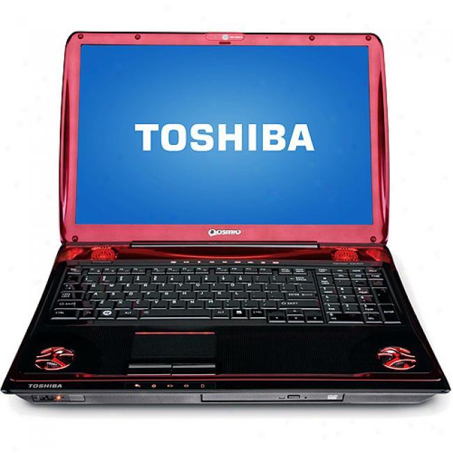 Toshiba 17'' Qosmio X305-q710 Laptop Pc W/ Inntel Core 2 Duo Processor P7450