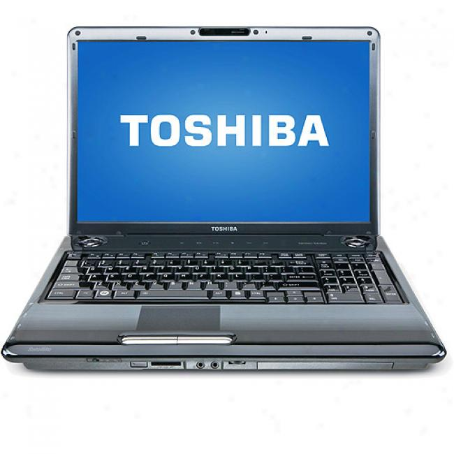 Toshiba 17'' Satellite P305-s8904 Laptop Pc W/ Intel Core 2 Duo Processor T6400