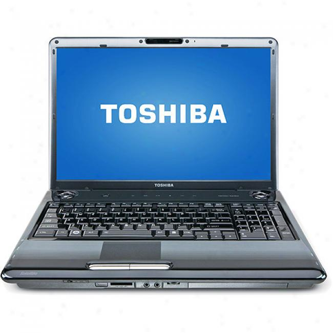 Toshiba 17'' Satellite P305-s8915 Laptop Pc W/ Intel Core 2D uo Processor T6400