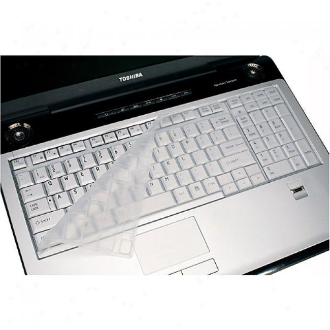 Toshiba Silicone Laptop Keyboard Protector