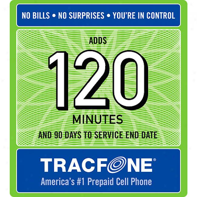 Tracfone 120-minyte Airtime Czrd