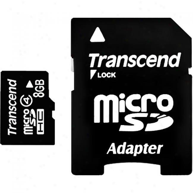 Transcend 8gb Microsdhc Memory Caard