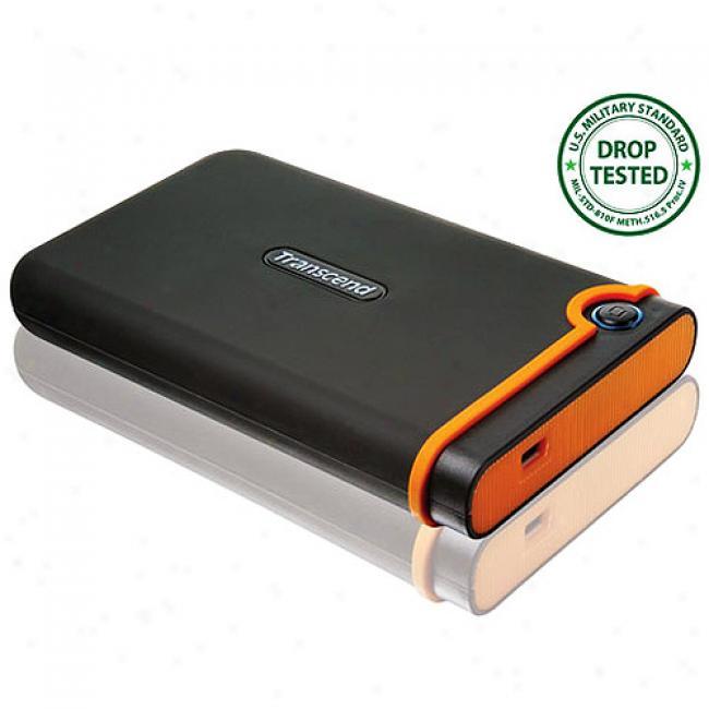 Transcend Storejet 500gb Shockproof Portable Hard Drive