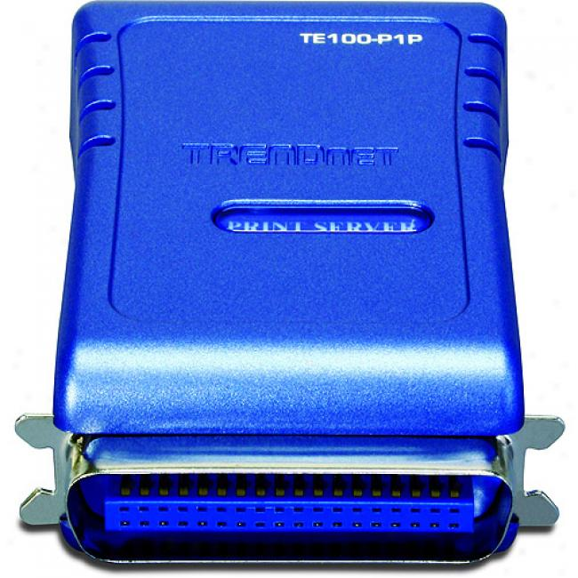 Trendnet 1-port In conformity Print Server