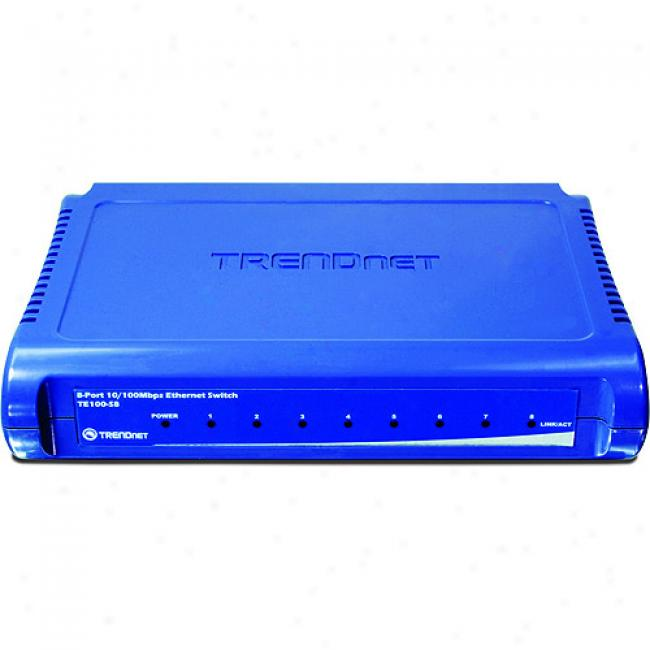 Trendnet 8-port 10/100 Mini Switch