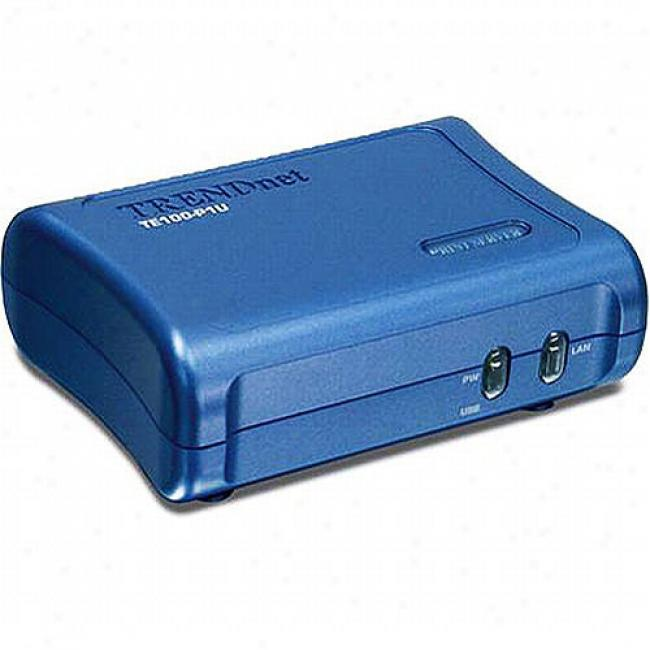 Trendnet Te100-p1u Print Server (1 Usb)