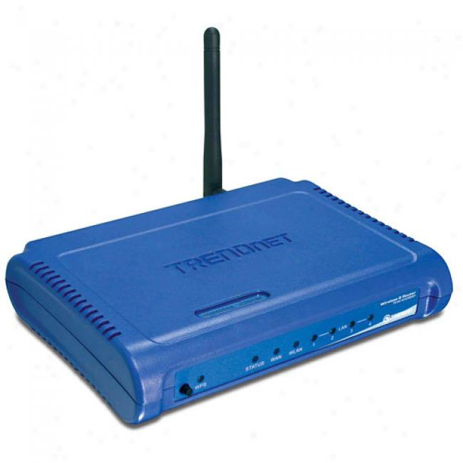 Trendnet Tew-432brp Wireless-g 54mbps Firewall Router