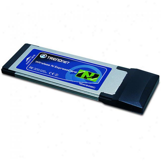 Trendnet Wireless N Express Card