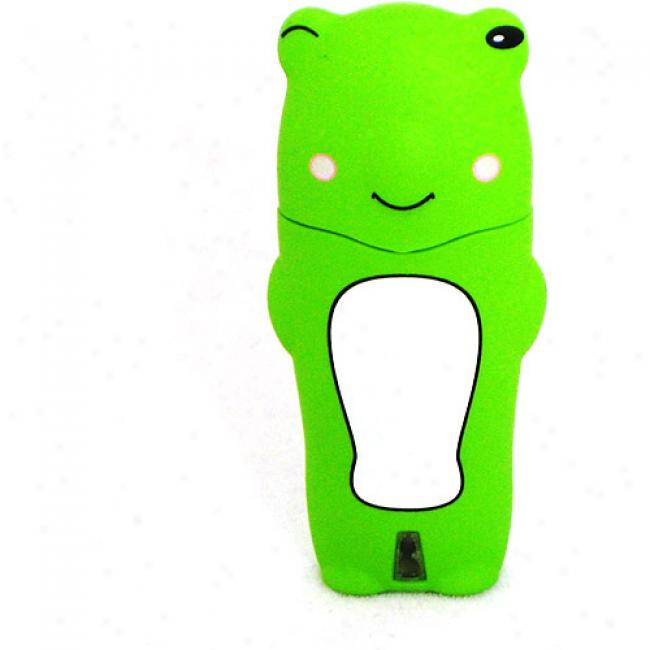 Tribeca 2gb Frog Usb Flash Drive, Green