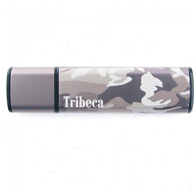 Tribrca 2gb Green / Camo Splash Usb Flash Drivs