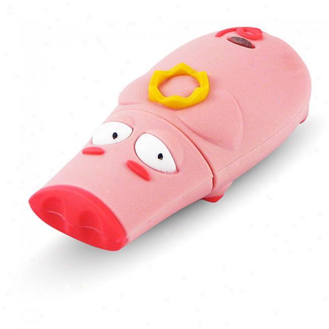 Tribeca 2gbmale Pig Memory Hog Usb Flash Drive