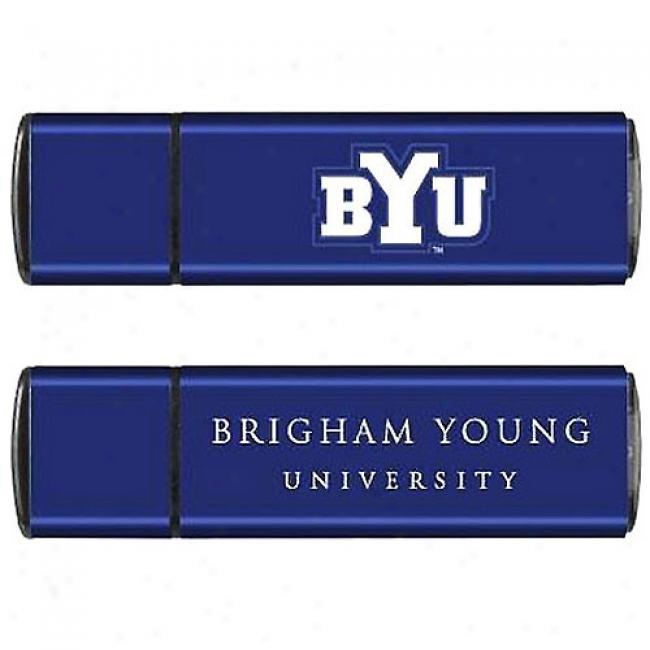 Tribeca 4gb Brigham Young Seminary of learning Usb Flash Drive, Blue