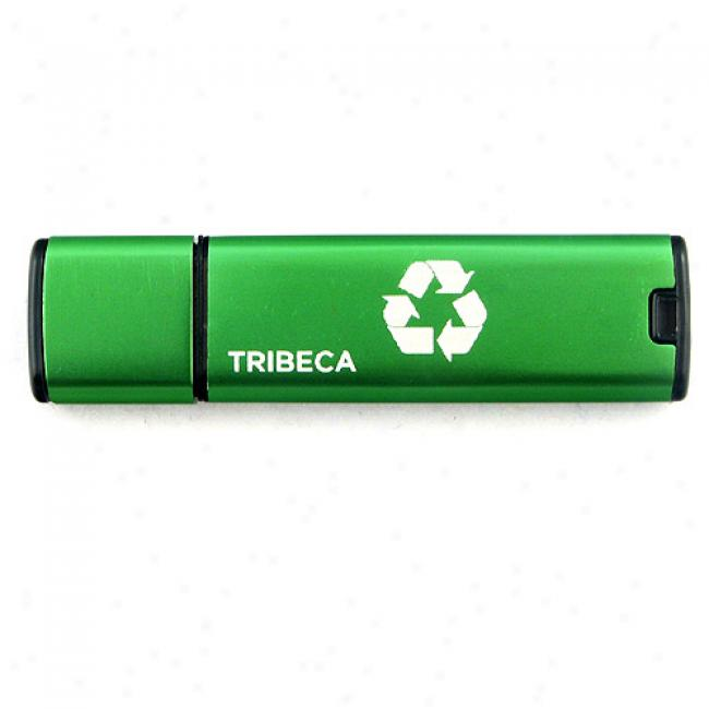 Tribeca 4gb Greendrive Usb Flash Drive