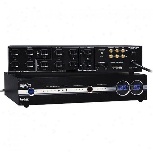 Tripp Lite 12-outlet Isobar Av Power Conditioning Center