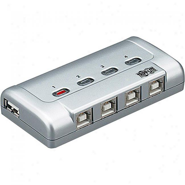 Tripp Lite 4-port Usb 2.0 Printer Sharing Switch