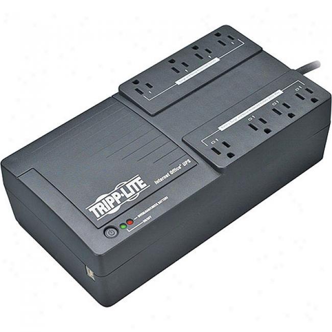 Tripp Lite 8-outlet Low-profile Usb Ups System - 550va/300-watts