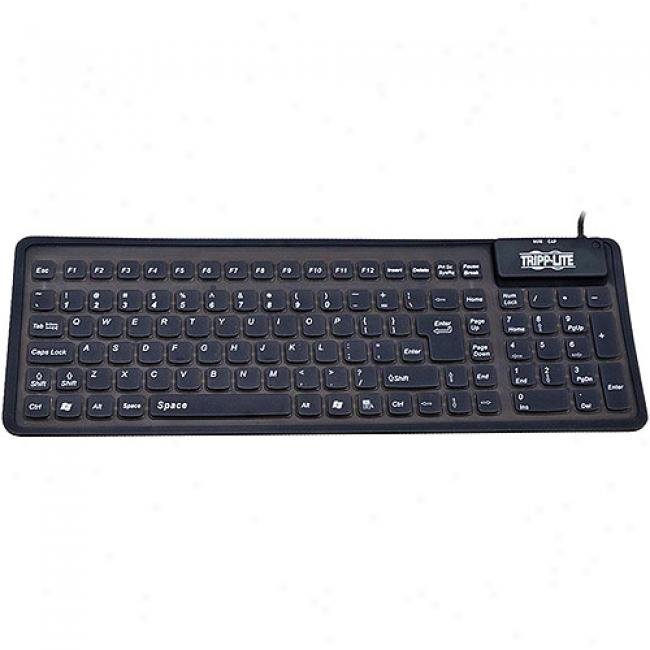Tripp Lite Compact Flexible Usb And Ps/2 Keyboard