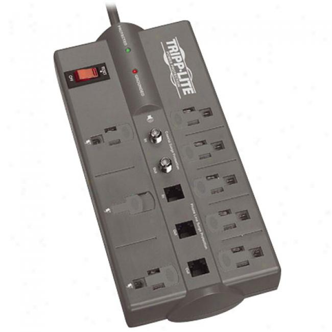 Tripp-lite Protect It! 808 Teltv 8-outlet 120v Surge Protector