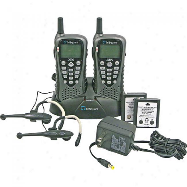 Trisquare Tsx300-2vp Ecrs Extreme Radio Service Two-way Radio Pair With Accessories