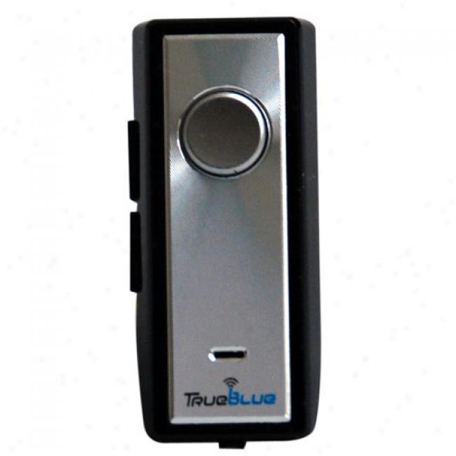 Trueblue Tb-41-ex Bluetooth Headset, Silver