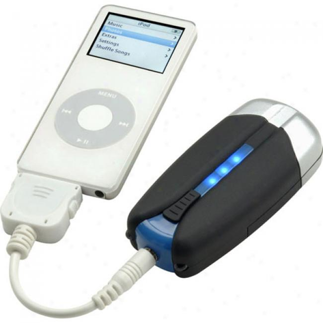 Turbo Charger Tcportable Charget For Ipod And Iphone