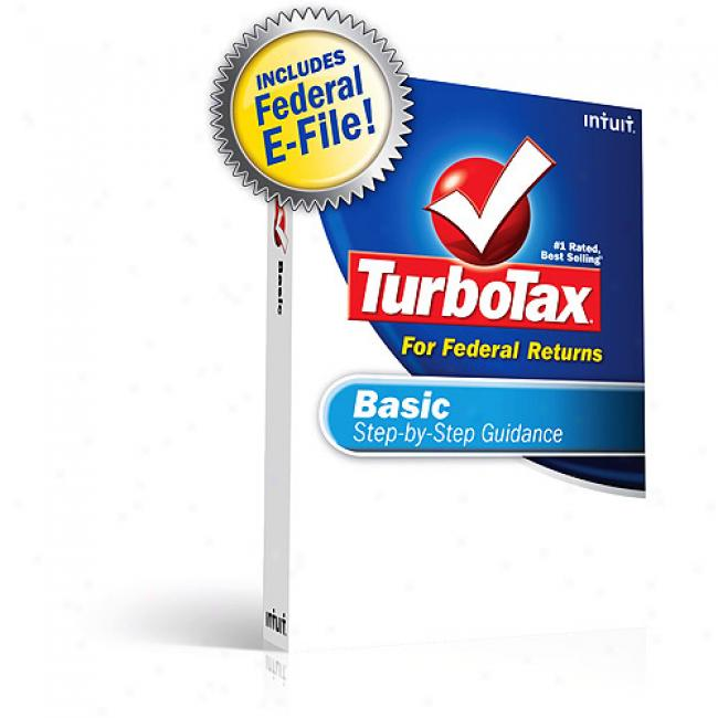 Turbotax Basic Federal + Federal E-file 2008