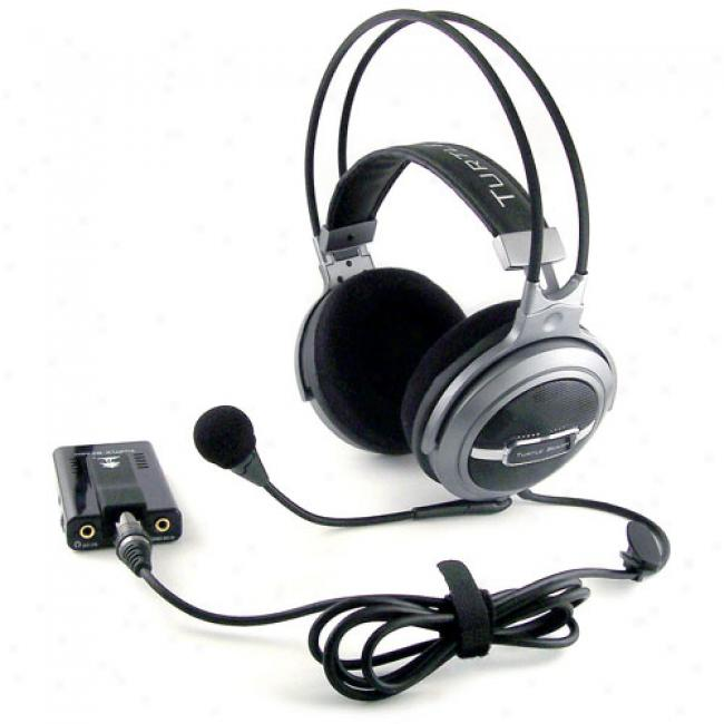 Turtle-dove Beach Ear Force Ak-r8 5.1 Surround Sound Gaming Headset