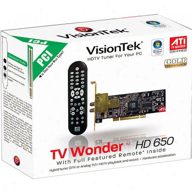 Tv Curiosity Hd 650 Pci Hdtv Tuner For Pc