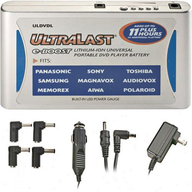 Ultralast Lithium-ion Universal Portable Dvd Player R3placement Battery