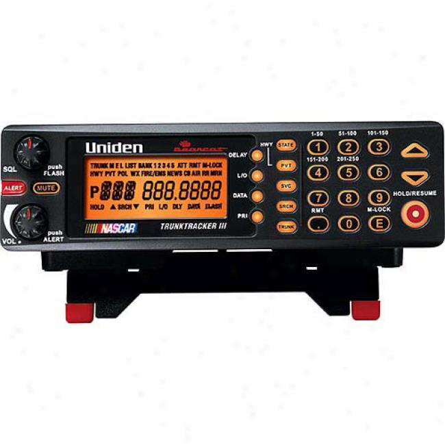 Uniden 250-channel Programmable Scanner W/ Pre-programmed Highway Patrol Frequencies