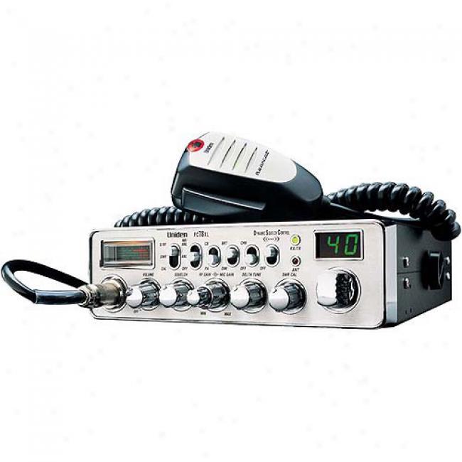 Uniden Bearcat Pro Cb Radio W/ Dynamic Squelch & Delta Tuning