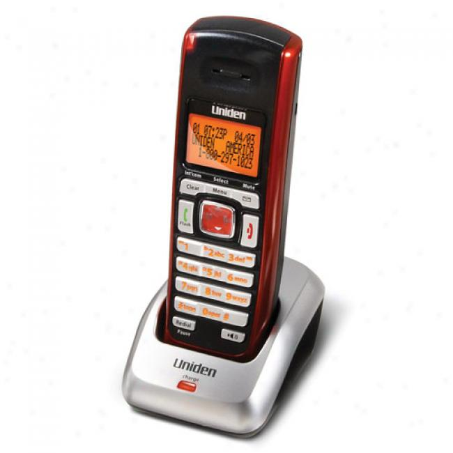 Uniden Dect6.0 Extra Handset, Red