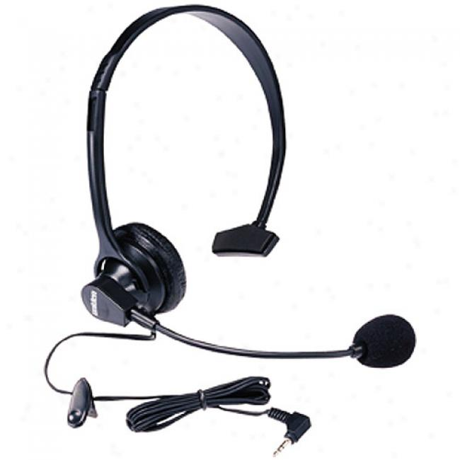 Uniden Hands-free Headset With Boom Microphone