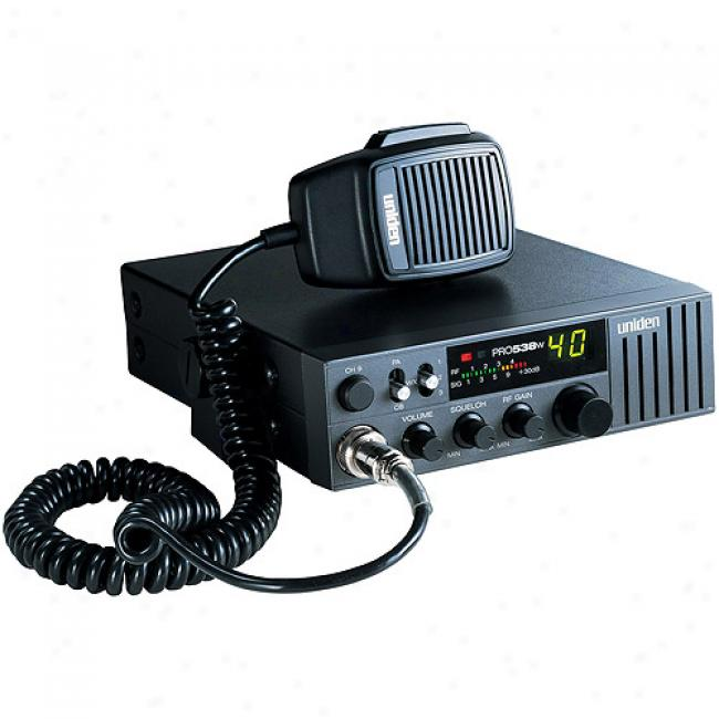 Uniden Professsional Cb Radio W/ Weather Channels