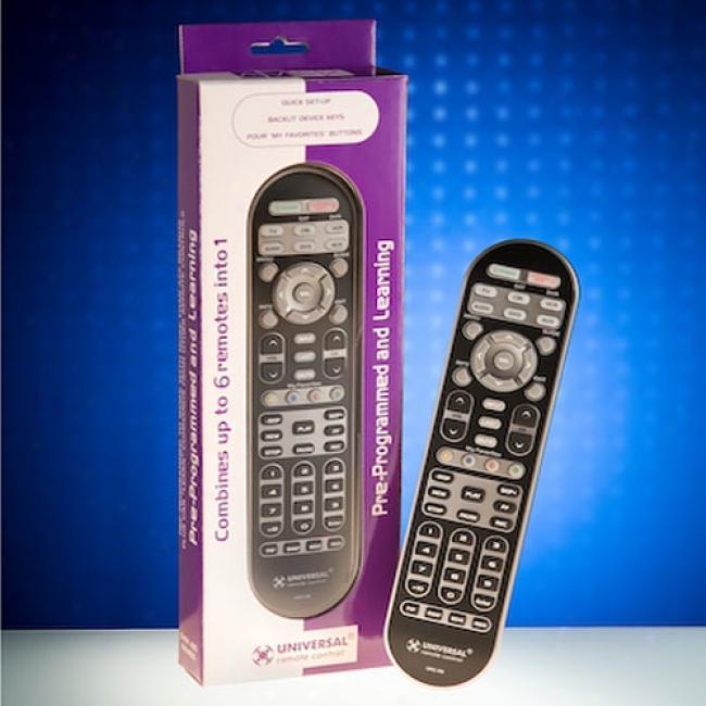 Universal 6 Device Remote Control ,R6