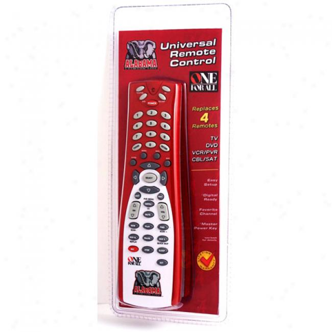 University Of Alabama Universal Remote Control