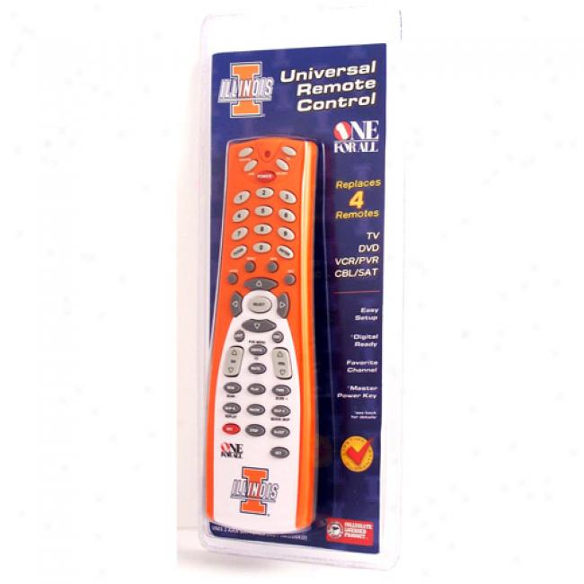 Univwrsity Of Illinois Universal Remote Control