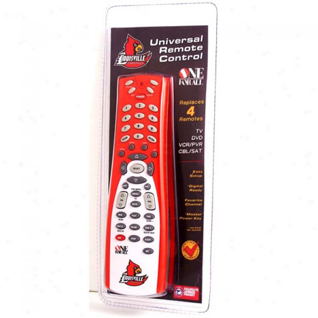 University Of Louisville Universal Remote Control