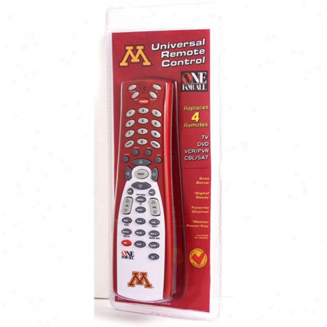 University Of Minnesota Universal Remote Control