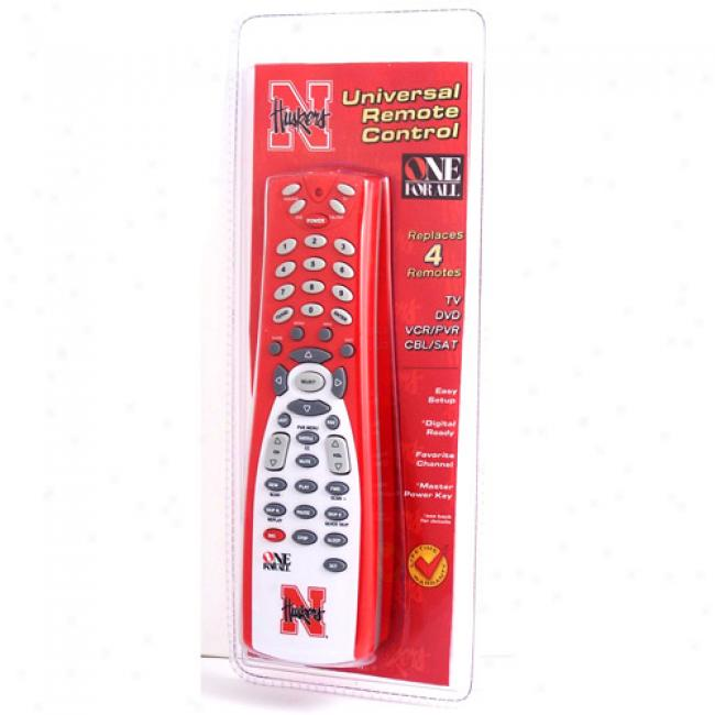 University Of Nebraska Universal Remote Control