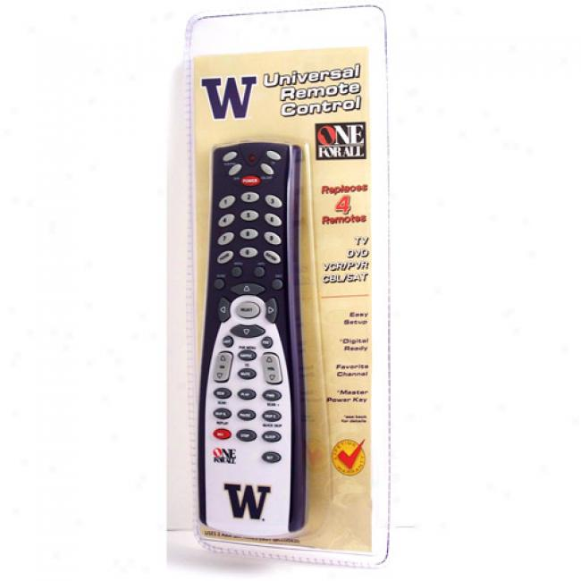 University Of Washington Universal Remote Control