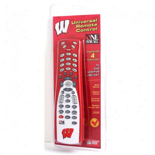 University Of Wisconsin Universal Remote Control