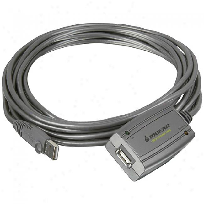 Usb 2.0 Booster Extension Cable, 16 Feet