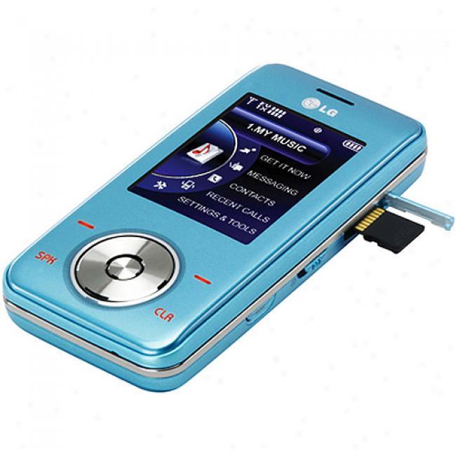 Verizon Impulse Lg Chocolate 2 Prepaid Mobile Phone, Blue